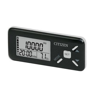 Veridian Healthcare Citizen Premium Digital Pocket Pedometer (Black)