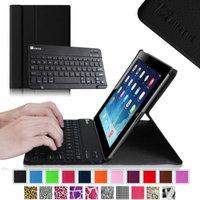 Fintie Wireless Bluetooth Keyboard Case for Apple iPad 4th Generation with Retina Display, iPad 3 & iPad 2, Black