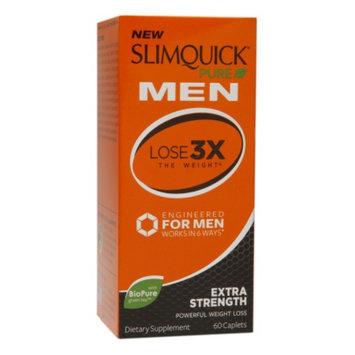 SlimQuick Pure Men, Extra Strength, Caplets