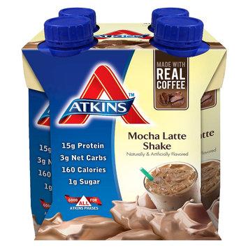 Atkins Mocha Latte Shake - 4 Count