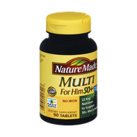 Nature Made Multi for Him 50+ Dietary Supplement Tablets - 90 CT