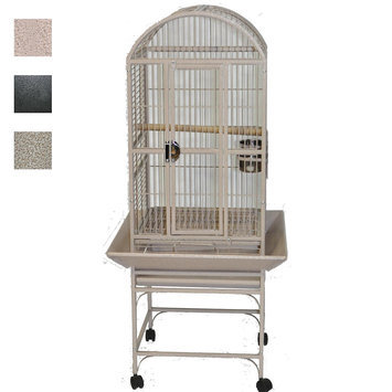 A & E Cages AE-9001818S High Rise Dome Top Cage - Sandstone