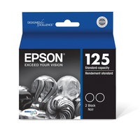 Epson Black Dual Pack Ink Cartridge Standd