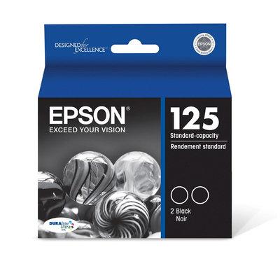 Epson Black Dual Pack Ink Cartridge Standd