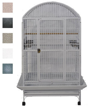 A & E Cage 9003628 White Extra Large Dome Top Bird Cage