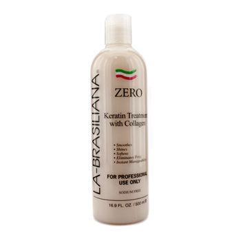 La Brasiliana La-Brasiliana Zero Keratin Treatment With Collagen 500ml/16.9oz
