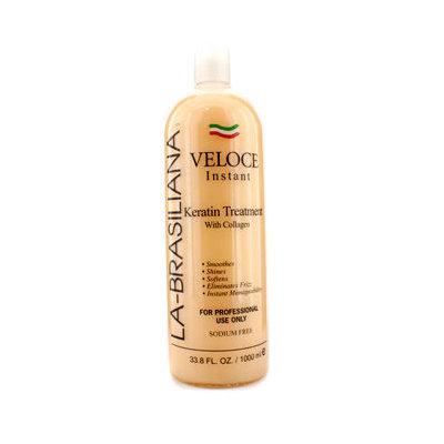 La Brasiliana La-Brasiliana Veloce Instant Keratin Treatment With Collagen 1000ml/33.8oz