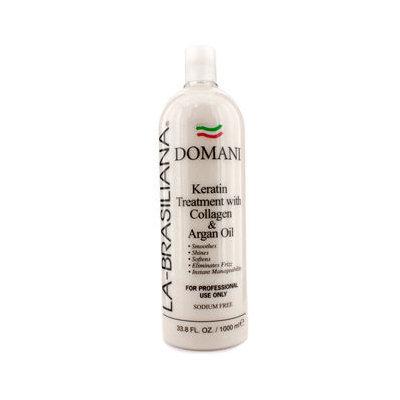 La Brasiliana La-Brasiliana Domani Keratin Treatment With Collagen & Argan Oil 1000ml/33.8oz