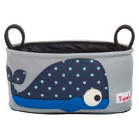 3 Sprouts Stroller Organizer - Whale - 1 ct.