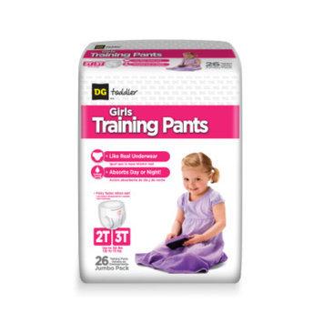 DG Toddler Training Pants for Girls 2T-3T - 26ct