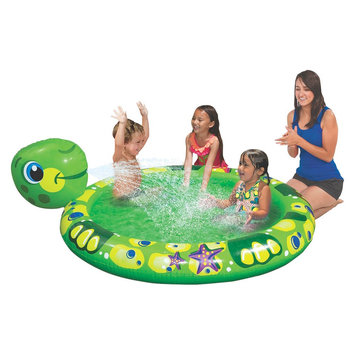 Manley Toys Banzai Kickin' Back Animals Pool - Turtle