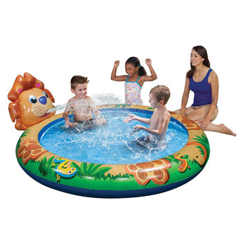 Manley Toys Banzai Kickin' Back Animals Pool - Lion
