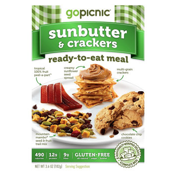 Gopicnic Go Picnic Sunbutter & Crackers 3.6 oz