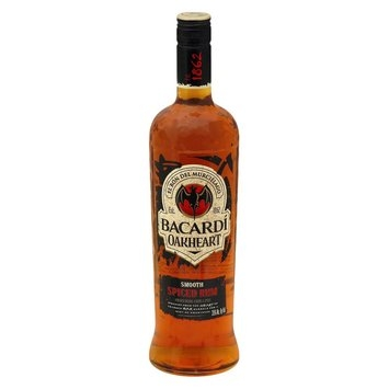 Bacardi Oakheart Smooth Spiced Rum