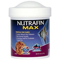 RC Hagen A6700 Nutrafin Max Tropical Fish Flakes .67 oz