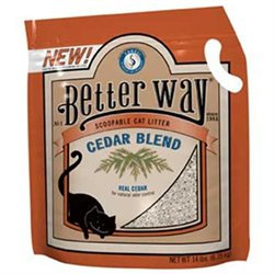 New Harvest Ventures CHV50040 Better Way Cedar Blend Cat Litter