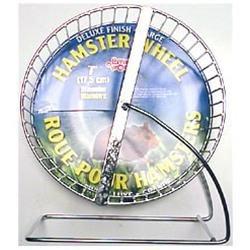 RC Hagen 61705 Living World Chrome Plated Hamster Wheel, 7 in. dia.
