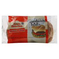 King's Hawaiian Bakery West, Inc. Kh Buns Kh Sandwich Buns 4CT