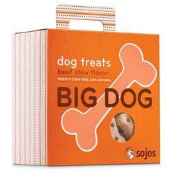 Sojo S Sojos BS12 Big Dog Treats Beef Stew