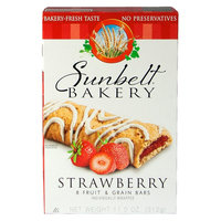 Mckee Foods Sunbelt Bakery Strawberry Grain Bars 8 ct