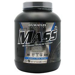 Dymatize Eilte Mass Hi-Protein Muscle Gainer Vanilla Milk Shake - 3.3 lbs