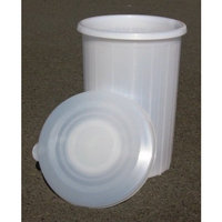 Brewcraft 12 Gallon Plastic Fermenter with Lid for Wine Making