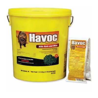 Neogen 116372 Havoc Rat/Mouse Bait Pack - Pail