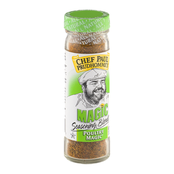 Chef Paul Prudhomme's Magic Seasoning Blends Poultry Magic