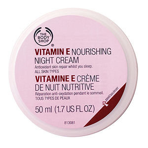 Slide: The Body Shop Vitamin E Nourishing Night Cream