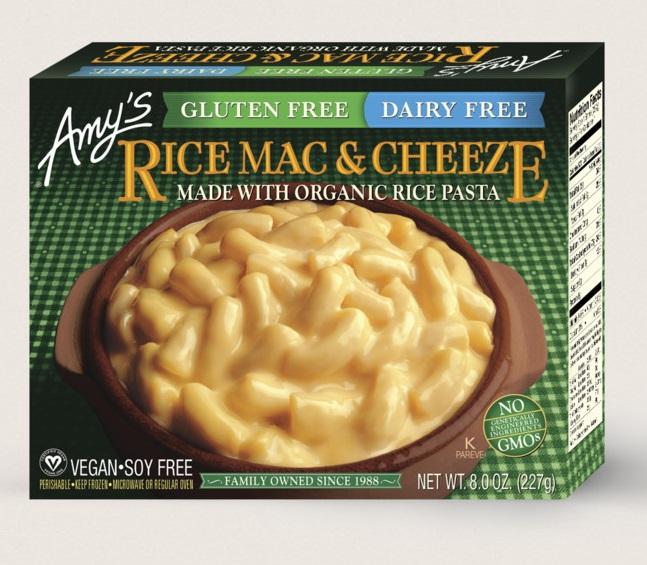 Amy's Kitchen Rice Mac & Cheeze, Gluten Free, Dairy Free