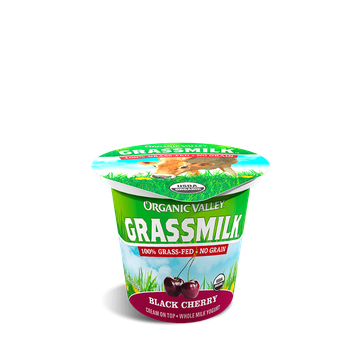 Organic Valley® Black Cherry Grassmilk Yogurt