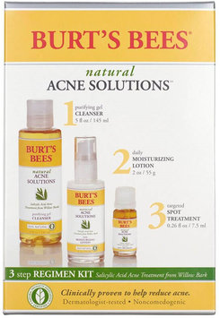 Burt's Bees Natural Acne Solutions 3 Step Regimen Kit