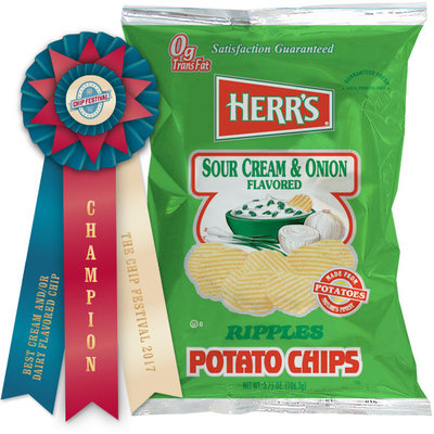 Herr's® Sour Cream & Onion Potato Chips