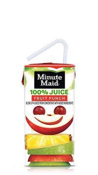 Minute Maid® 100% Fruit Punch Juice Box