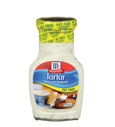 McCormick® Fat Free Tartar Sauce for Seafood