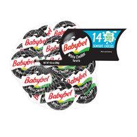 Mini Babybel® White Cheddar Variety Cheese Wheel 14 ct