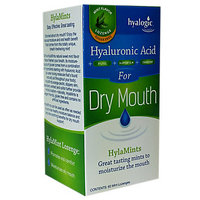 Hyalogic - Hyaluronic Acid for Dry Mouth Mint Flavor Lozenges