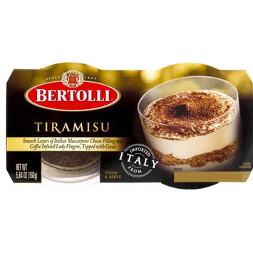 Bertolli® Tiramisu Dessert 2 ct Sleeve