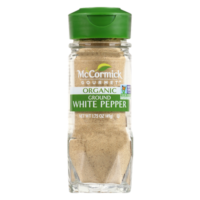 McCormick Gourmet™ Organic White Pepper, Ground