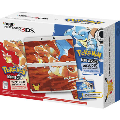 Nintendo - New 3DS Pokémon 20th Anniversary Edition - White