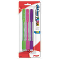 Pentel Clic Assorted Color Erasers