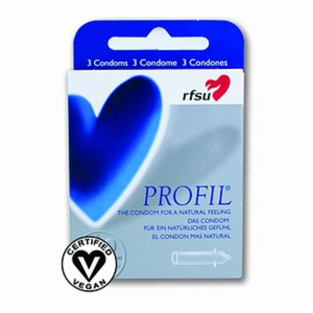 RFSU Condoms, Profil-Natural Feeling, 3 ea