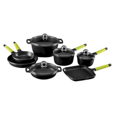 Fundix 11 Pc Induction Cookware Set Kiwi