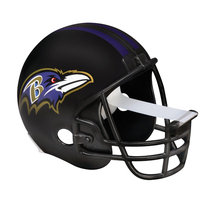 Scotch Magic Tape Dispenser Baltimore Ravens Football Helmet - Holds Total 1 Tape[s] - Refillable - Black (c32helmetbal)