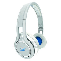 SMS Audio STREET by 50 Wired On-Ear Headphones - White