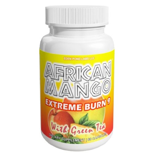 Eden Pond Extreme Fat Burner and Summer Weight Loss Supplement Capsules, African Mango, 60 Count