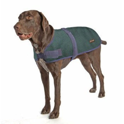 ABO Gear Wool Dog Coat, Hunter Green, XX-Large