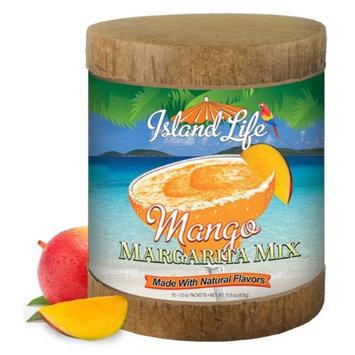 Island Life 2184034 15ct Mango Margarita Mix Eco-Canister - 6 Packs