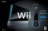 Nintendo of America Nintendo Wii - Black Bundle