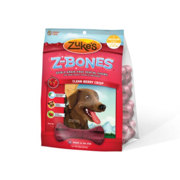 Zuke's Zbone Regular Clean Berry Crisp